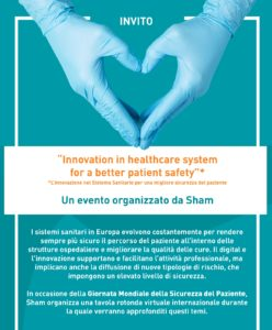 """Innovation in healthcare system for a better patient safety"""